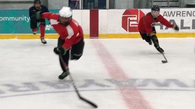 Power Skating Leg Loads Exercise