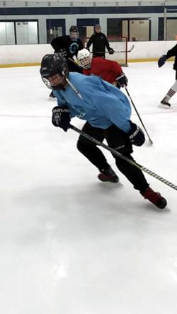 Power Skating Open Hip Exercises