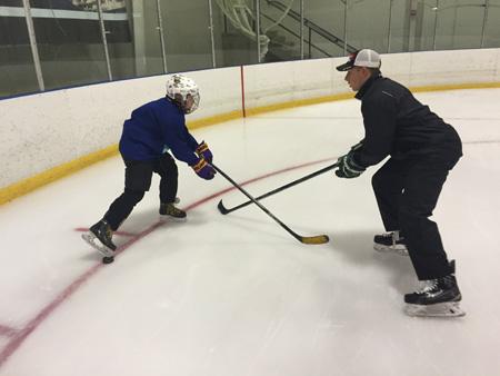 Radius Edge Power Skating private lesson with Jordan Deckard