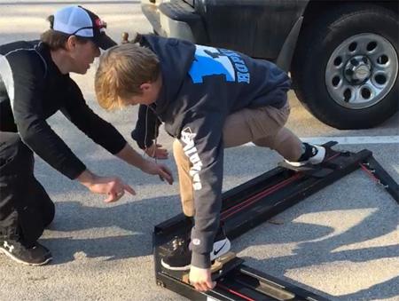 Radius Edge Power Skating private lesson dryland training with Peter Klim