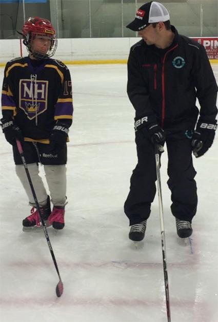 Radius Edge Power Skating private lesson with Brendan Phillipon