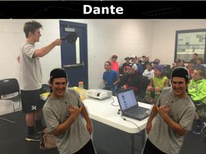 Radius Edge Power Skating, Staff Dante